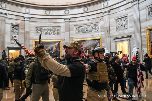 Now we have seen everything – US Capitol invasion by Trump supporters